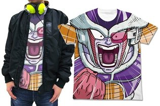 Frieza's Close-Up is Incredible! T-Shirts and Tote Bags Featuring that Famous Quote Are Here!