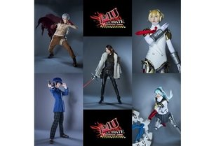 "Mitsuru, Sanada, Aigis, Naoto, and Labrys - Round 3 of ""P4U"" Stage Play Character Visuals Releases"