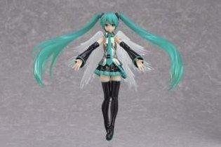 "Revamped Hatsune Miku Figure is Figma No. 200! ""Figma Hatsune Miku 2.0"" to Release This October!"