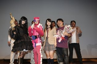 Nuigurumaa Z Event Held in Suginami Welcomes Mascot Namisuke, Rina Takeda Repels Zombies
