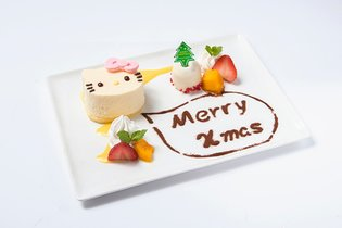 Merry Christmas with Hello Kitty! Café Featuring Hello Kitty Opens in Shibuya