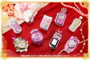 "Successive Generations of Transformation Items Become Miniaturized! 10th Anniversary Set ""PreCure All Stars Memorial"" to Release"