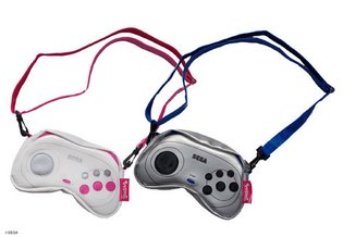 Essential for Girl Gamers - Pouches Themed After Saturn and Mega Drive Controllers