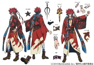The Revolution is in Two Months! Anime *Bakumatsu Rock* Character Info Released & Official Site Redone
