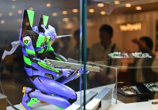 Re-opening of Evangelion Store in Ikebukuro