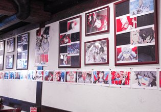 *Kill la Kill* Collaborates with an Original Maid Cafe! Kill la Kill Cafe Opens in Akihabara!