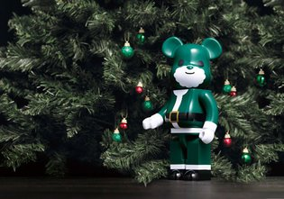 BE@RBRICKs and Klaus Haapaniemi for Isetan Mitsukoshi Christmas Charity Project