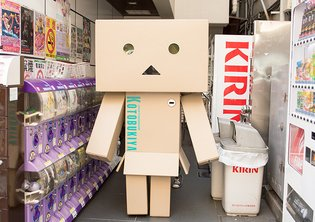 A Life-Size Danboard that Moves! Let's Go Meet This Costumed Danboard and Take Pictures Together!