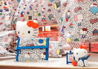 Congratulations, Hello Kitty! Special 40th Anniversary Space Opens at Shibuya Parco!