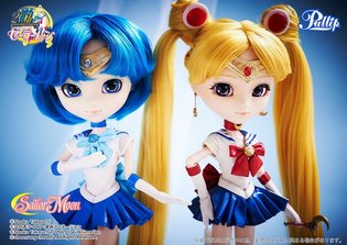 *Sailor Moon* × Pullip Collaboration Series: Following after Sailor Moon, Sailor Mercury, Soldier of Water and Wisdom Appears!