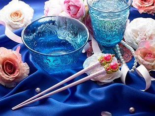 Introducing Sailor Moon Chopsticks - Use the Moon Stick to Scarf Down Rice