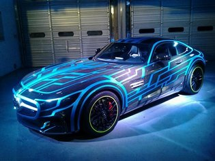 "Collaboration Announced Between ""Kamen Rider Drive"" Movie and Mercedes-AMG GT! Freshly Unveiled NEX Tridoron"