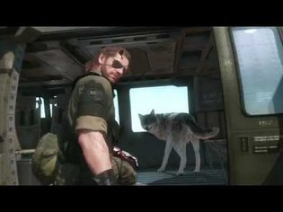 Metal Gear Solid V: The Phantom Pain Open-World Action at E3 2015