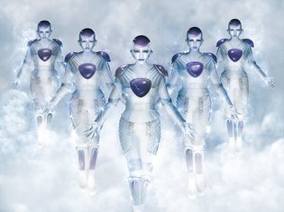 Momoiro Clover Z as Frieza Artwork Created by ANIMAREAL