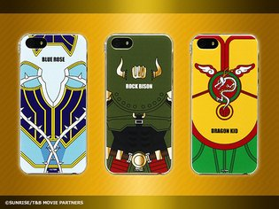 Lineup of Tiger & Bunny Smartphone Jackets Includes 10 Designs