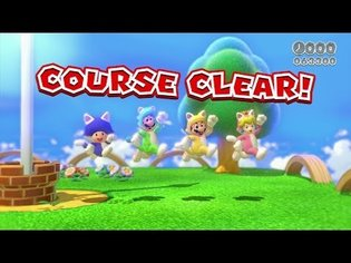 Gameplay Video of Super Mario 3D World