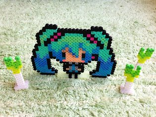 Easily Create Pokémon and Hatsune Miku Items?! An Introduction to Perler Bead Artist Nunchakku and How to Create Using Perler Beads