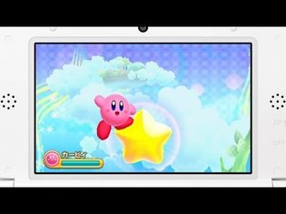 The First *Kirby* Game in Three Years! *Hoshi no Kirby Triple Deluxe* to Release in 2014
