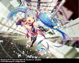 "Gamepot by GMO × Hatsune Miku - Collaborative ""Hatsune Miku Gamepot Ver."" Unveiled, Special Site Opens!"
