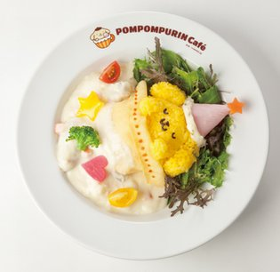 Pom Pom Purin Cafe on Takeshita Street in Harajuku Introduces Four Winter-Exclusive Menu Items