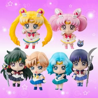 Puchi-Chara! Sailor Moon Part 2 Pre-Orders Begin, Super Sailor Chibi Moon and Five Other Cute Characters to Release