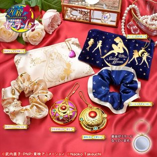 New *Sailor Moon* Gatcha to Release in June! Six Items Include Pouch and Scrunchie