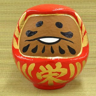 Collaboration Between the Popular Character Nameko and Traditional Daruma Doll Takes Place