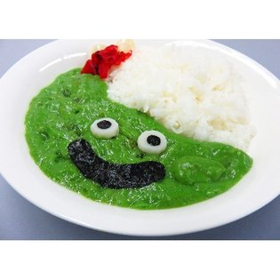 Poisonous-Looking Green Slime Curry Joins the Lineup! → Want Some?