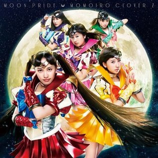 Momoiro Clover Z Dons *Sailor Moon* Outfits on Jacket of New Single, *Moon Pride*
