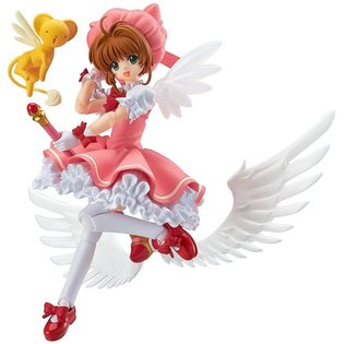 Masterpiece Magical Girl Comic *Cardcaptor Sakura* Main Character Sakura Kinomoto Appears as a figma Dressed in Outfit from Comic Vol. 1 Cover