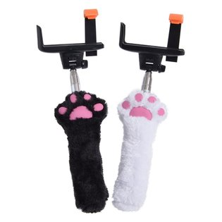 Press the Paw to Snap a Cute Photo with These New Fluffy Paw Selfie Sticks!