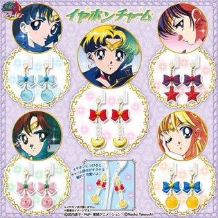 Eye-Catching and Cute! Sailor Moon Earphone Charms to Finally Release as Gachapon Toys