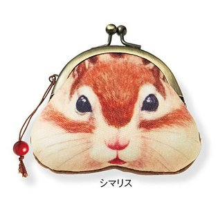 What Munches and Gets Big, Puffy Cheeks?! New Coin Purses Featuring Hamster and Chipmunk Cheek Pouches