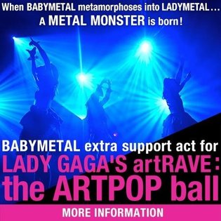 Babymetal Answers Lady Gaga's Passionate Love Call, Will Perform on Tour for Five Stops as Support Act