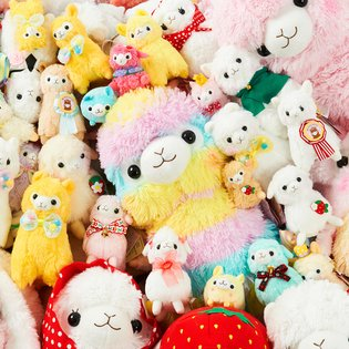 Is it Really REAL?! This Dreamy Alpacasso 100-Plushie Set is Unbelievably Kawaii!