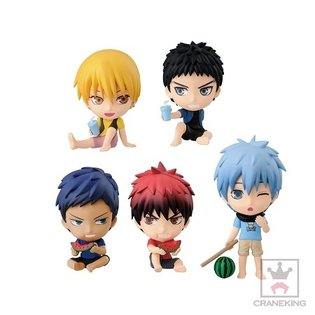 New *Kuroko's Basketball* Items Themed After Summer to Release Successively by Banpresto