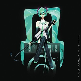 """Hatsune Miku Dreams of Electric Sheep"" Collaboration Event Between Hatsune Miku and Artists Opens"