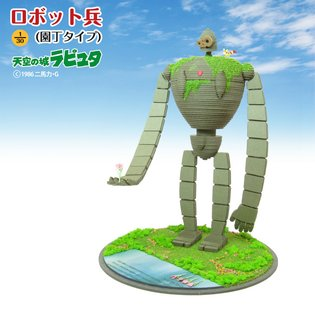 We'll Show You the Essential Qualities of Papercrafting! Robot Soldier (Gardener Type) from *Castle in the Sky* to Release Late March