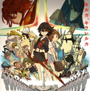Long PV for Hugely Anticipated Anime *Kill la Kill* Finally Releases!