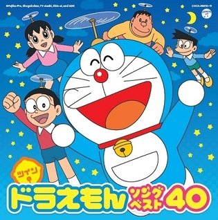 *Twin☆Doraemon Song Best 40* - Character Song Album from the Popular Anime to Release