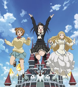 Focus: Three-Person Girl Group from TV Anime *Soul Eater Not!* Fully Enjoys Their School Life at Shibusen!