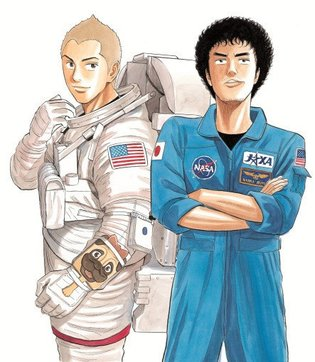 Space Brothers Manga Exhibit: Replicas and Original Illustrations