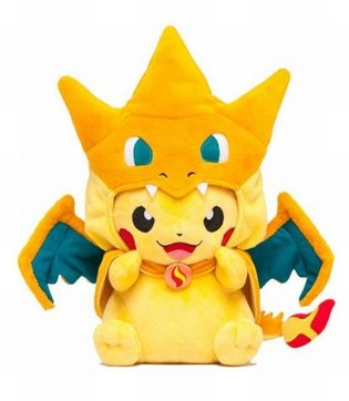 Ikebukuro Pokémon Center Mega Tokyo is Born! Mega Charizard Y × Pikachu Stuffed Toys and More to Release in Celebration of the Opening