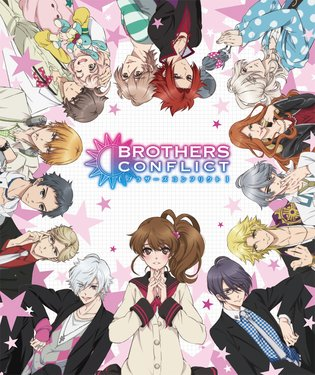 "TV Anime ""Brothers Conflict"" Begins Broadcasting! Hinata Meets Her 13 New Step Brothers?!"
