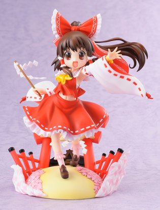 "Hobby Japan and Mega House's New Figure Series ""Touhou Project Gensou Hyakkei - Hakurei Reimu"""