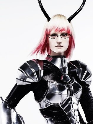 Shiseido's Tadashi Harada Recreates Michelle K. Davis from *Terraformars* in Real Life