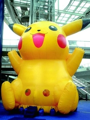 Giant 9-Meter-Tall Pikachu in Maizuru - 11th Umi Festa Kyoto Begins