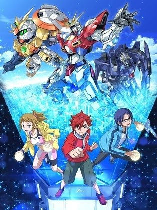 *Gundam Build Fighters Try* Broadcast Begins in October, Series New Characters and a New Story