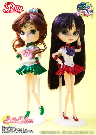 The Inner Sailor Guardians Are Finally All Together! 'Sailor Moon' x Pullip Sailor Mars & Sailor Jupiter Now Available!