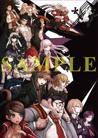 "Lineup of New ""Danganronpa"" Goods to be Sold at Comic Market 84"